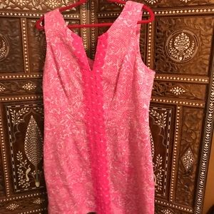 Lilly Pulitzer dress in pink